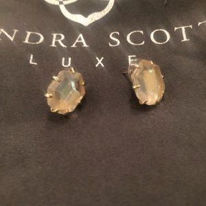 Kendra Scott translucent iridescent Morgan earring